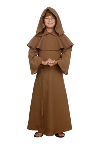 Click Here to buy Kids Brown Monk Robe Costume from HalloweenCostumes, CDN Funds & Shipping