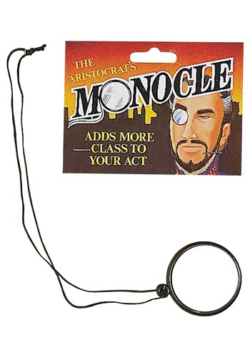 Click Here to buy Monocle - Steampunk Costume Accessory from HalloweenCostumes, CDN Funds & Shipping