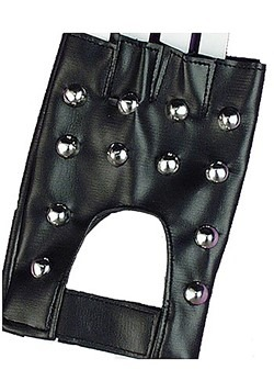 Studded Biker Gloves
