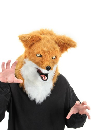Click Here to buy Mouth Mover Fox Mask from HalloweenCostumes, CDN Funds & Shipping
