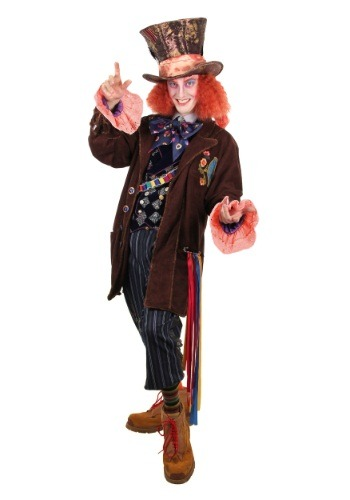 Click Here to buy Alice in Wonderland Authentic Mad Hatter Costume from HalloweenCostumes, CDN Funds & Shipping