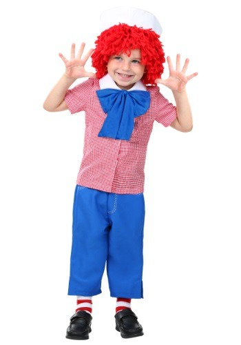 Click Here to buy Toddler Raggedy Andy Costume from HalloweenCostumes, CDN Funds & Shipping