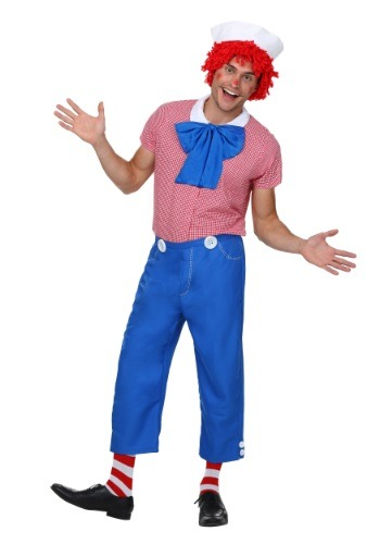Mens Adult Rag Doll Costume