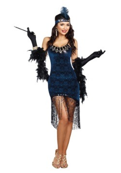 Womens Downtown Doll Costume