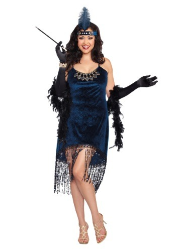 Click Here to buy Womens Plus Size Downtown Doll Costume from HalloweenCostumes, CDN Funds & Shipping