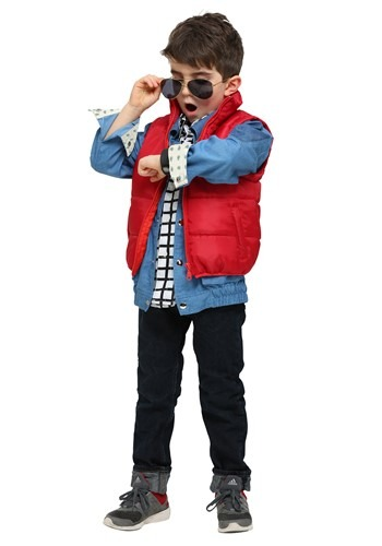Click Here to buy Back to the Future Marty McFly Costume for Toddlers from HalloweenCostumes, CDN Funds & Shipping
