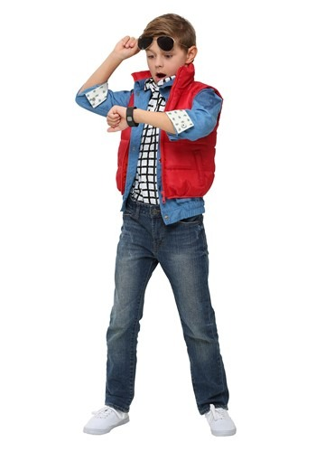 Click Here to buy Back to the Future Kids Marty McFly Costume from HalloweenCostumes, CDN Funds