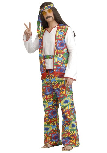 Click Here to buy Mens Hippie Costume from HalloweenCostumes, CDN Funds & Shipping