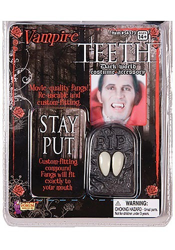 Click Here to buy Discount Vampire Teeth from HalloweenCostumes, CDN Funds & Shipping
