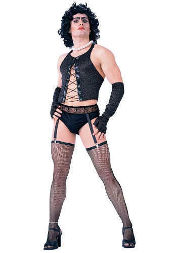Click Here to buy Frank N Furter Costume from HalloweenCostumes, CDN Funds & Shipping