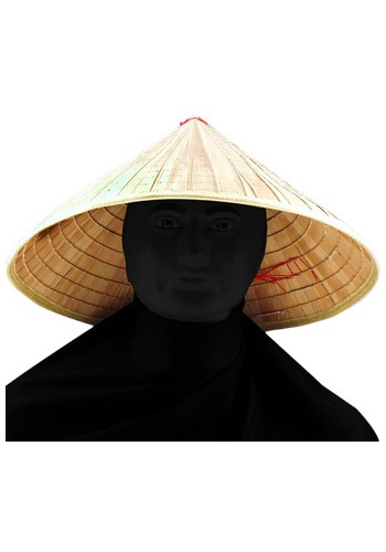 Pointed Bamboo Hat