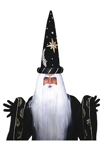 Click Here to buy Merlin Wig and Beard Set from HalloweenCostumes, CDN Funds & Shipping