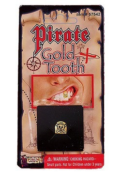 Pirate Gold Tooth