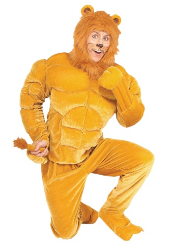 Click Here to buy Macho Cowardly Lion Costume from HalloweenCostumes, CDN Funds & Shipping