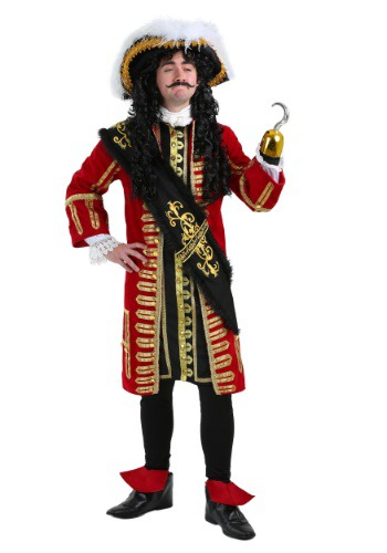 Elite Captain Hook Pirate Costume