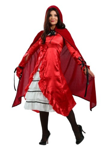 Click Here to buy Womens Fairytale Red Riding Hood Costume from HalloweenCostumes, CDN Funds & Shipping