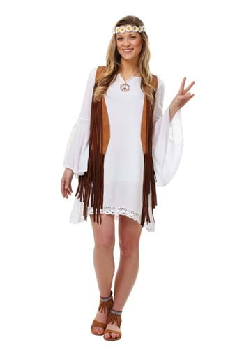 Womens Flower Child Size Costume