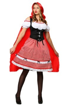Knee Length Red Riding Hood Costume