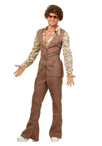 Click Here to buy Mens 70s Vest Costume from HalloweenCostumes, CDN Funds & Shipping