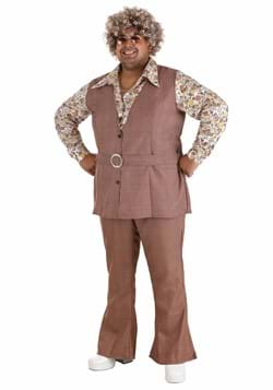 Men's Plus Size 70's Vest Costume