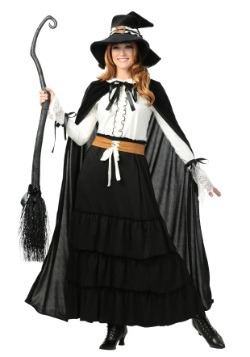 Women's Salem Witch Plus Size Costume