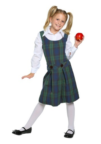 Click Here to buy Kids School Girl Costume from HalloweenCostumes, CDN Funds & Shipping