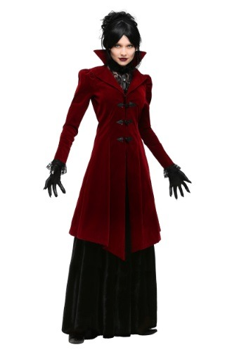 Womens Plus Size Delightfully Dreadful Vampiress Costume