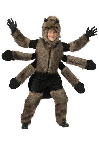 Click Here to buy Furry Spider Kids Costume from HalloweenCostumes, CDN Funds & Shipping