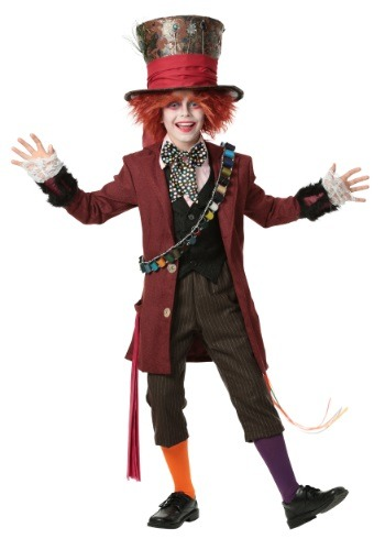 Click Here to buy Kids Authentic Mad Hatter Costume from HalloweenCostumes, CDN Funds & Shipping