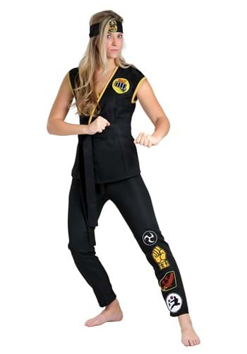 Click Here to buy Cobra Kai Womens Costume from HalloweenCostumes, CDN Funds & Shipping