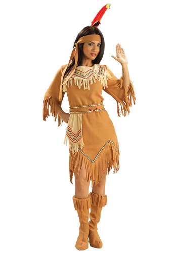 Click Here to buy Native American Maiden Costume from HalloweenCostumes, CDN Funds & Shipping