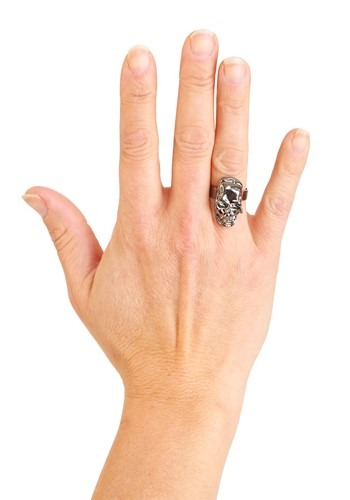 Click Here to buy Pirate Skull Ring from HalloweenCostumes, CDN Funds & Shipping
