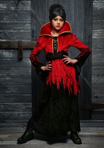 Girls Bloodthirsty Vampire Costume