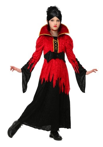 Click Here to buy Girls Bloodthirsty Vampire Costume from HalloweenCostumes, CDN Funds & Shipping