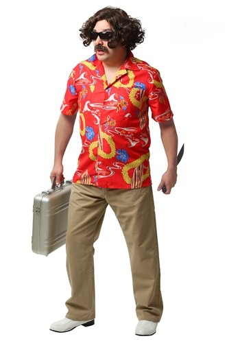 Click Here to buy Fear and Loathing In Las Vegas Adult Dr. Gonzo Costume from HalloweenCostumes, CDN Funds & Shipping