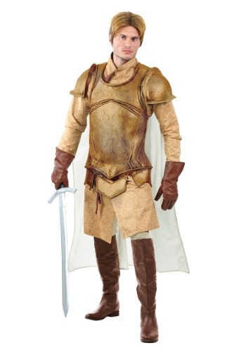 Click Here to buy Renaissance Knight Plus Size Mens Costume from HalloweenCostumes, CDN Funds & Shipping