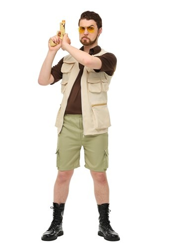 The Big Lebowski Plus Size Walter Costume 2X 3X