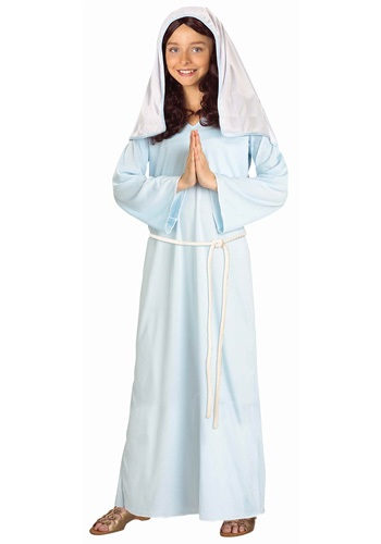 Click Here to buy Kids Mary Costume from HalloweenCostumes, CDN Funds & Shipping