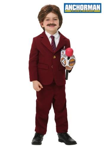 Anchorman Toddler Ron Burgundy Costume