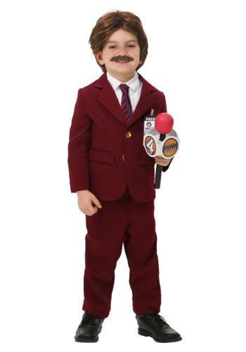 Click Here to buy Anchorman Toddler Ron Burgundy Costume from HalloweenCostumes, CDN Funds & Shipping