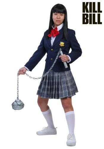 Womens Kill Bill Gogo Yubari Costume