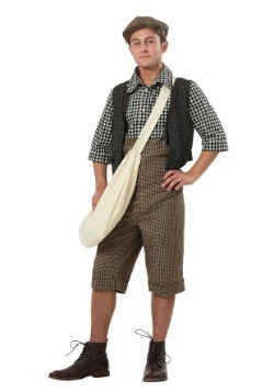 Adult 20s Newsie Costume