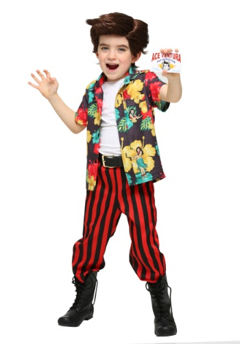 Click Here to buy Ace Ventura Costume with Wig for Toddlers from HalloweenCostumes, CDN Funds