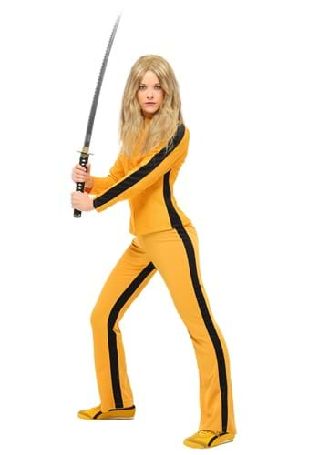 Click Here to buy Kill Bill Beatrix Kiddo Womens Costume from HalloweenCostumes, CDN Funds & Shipping