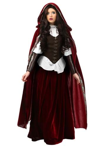 Click Here to buy Deluxe Red Riding Hood Costume from HalloweenCostumes, CDN Funds & Shipping