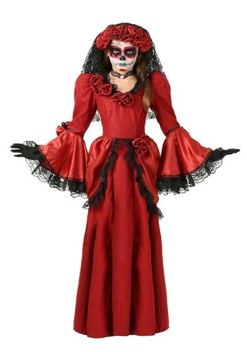 Click Here to buy Girls Day of the Dead Costume from HalloweenCostumes, CDN Funds & Shipping