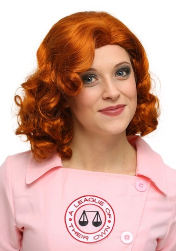 Click Here to buy League of Their Own Dottie Wig from HalloweenCostumes, CDN Funds & Shipping