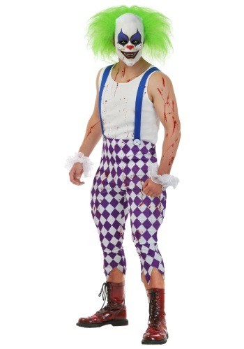 Click Here to buy Mens Nightmare Clown Costume from HalloweenCostumes, CDN Funds & Shipping