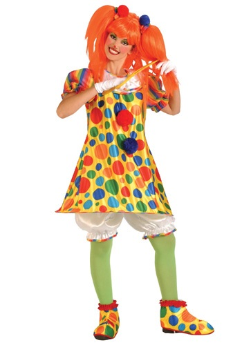Click Here to buy Giggles the Clown Costume from HalloweenCostumes, CDN Funds & Shipping