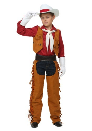 Click Here to buy Kids Rodeo Cowboy Costume from HalloweenCostumes, CDN Funds & Shipping